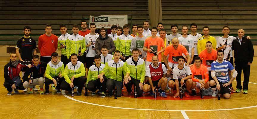 El Racing Cuéllar destina la recaudación de su torneo benéfico al colegio La Villa