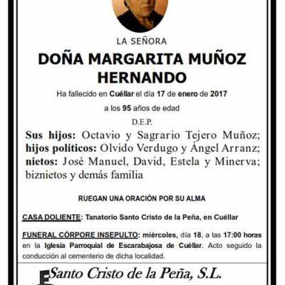 Margarita Muñoz Hernando
