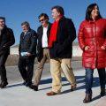 El presidente de la Diputación visitó las obras ejecutadas y en marcha con miras a las Edades del Hombre