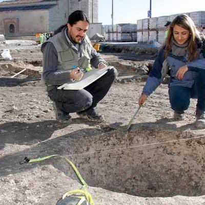 Patrimonio aprueba la memoria final de la excavación arqueológica en la calle Palacio de Cuéllar