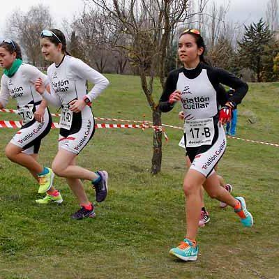 El Triatlón Laguna, vencedor del Duatlón Cross por equipos de Cuéllar