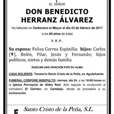 Benedicto Herranz Álvarez