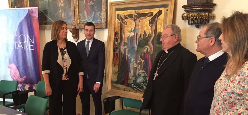 Un óleo de Pedro Berruguete entre las seis piezas que la diócesis de Palencia aportará a `Reconciliare´