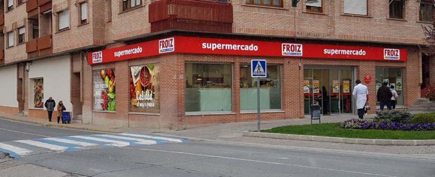 Froiz reabre su supermercado en Cuéllar con una ampliación de 250 metros y ocho nuevos empleos