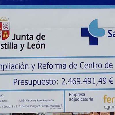 Comienza la ampliación y reforma del centro de salud de Carbonero el Mayor