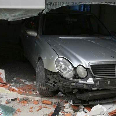 Un cuellarano de 23 años detenido tras sufrir un accidente sin carné de conducir