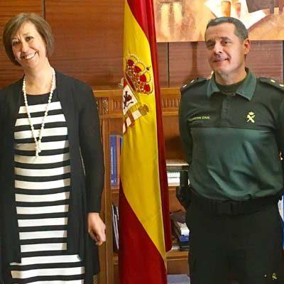 José Manuel Álvarez Ramos nuevo capitán de la compañía de Cuéllar de la Guardia Civil