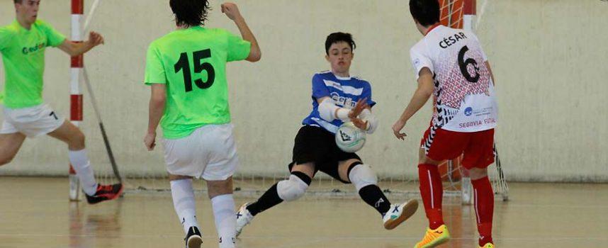 El FS Cuéllar juvenil cerró la temporada venciendo al San Cristobal en el derbi provincial