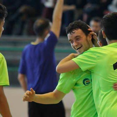 Primer partido, primera victoria del FS Cuéllar en la División de Honor Juvenil