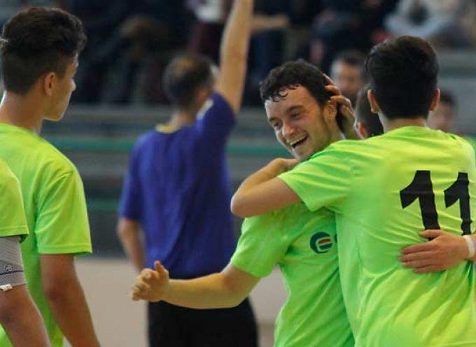 El FS Cuéllar juvenil consiguió una trabajada victoria en la cancha del Albense