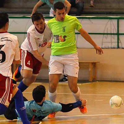 El FS Cuéllar juega en casa frente al segundo clasificado, el Pizarras Tres Cuñados