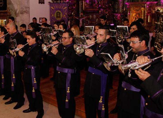 David Muriel pronunció el pregón Nazareno que dió paso al II Encuentro Nacional de Bandas de Cornetas y Tambores