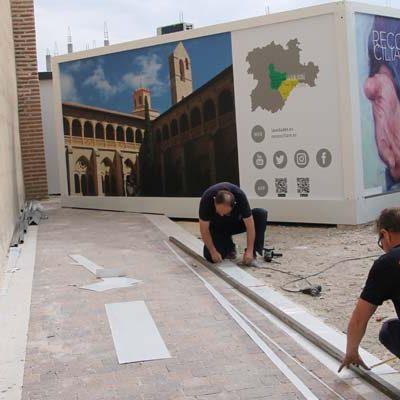 La Junta destina 900.000 euros para la celebración de la exposición de las Edades del Hombre en Cuéllar