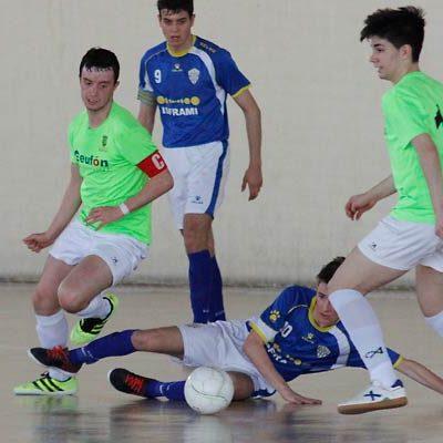 El FS Cuéllar Juvenil recibe al CD Medinense en busca de la victoria para luchar por el título