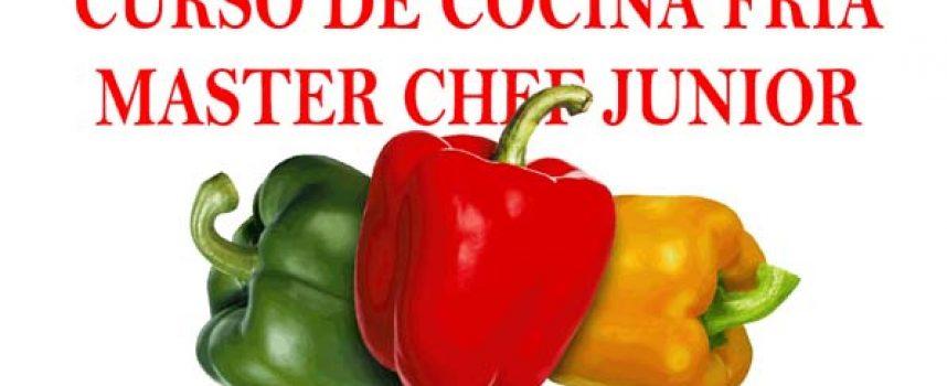 Un taller de cocina fría preparará a los niños para participar en el certamen `Cuéllar Chef Junior´