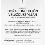 Concepción Velázquez Yllán