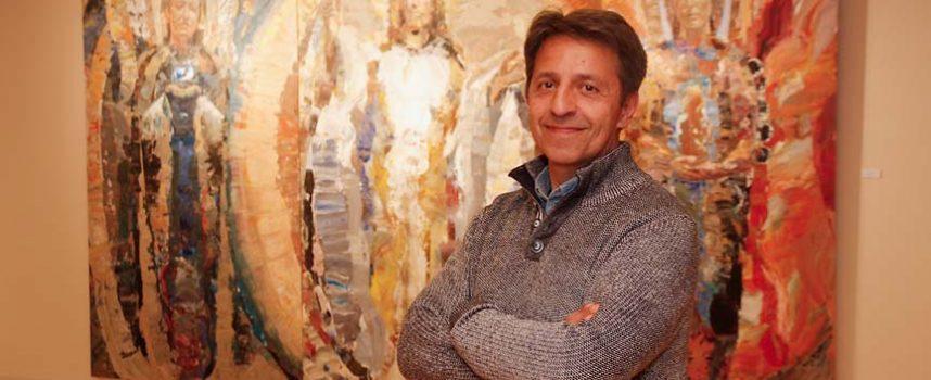 Las Tenerías acogen la exposición `Porta Caeli´ del segoviano Mariano Carabias