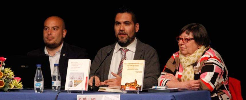 Víctor Muñoz presenta la segunda edición de su libro que cuenta con Fernando de Antequera y Leonor de Alburquerque como protagonistas