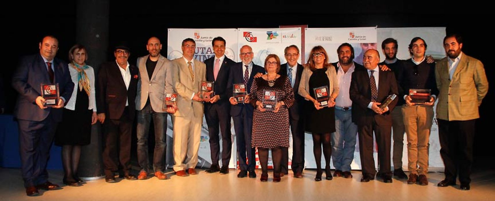 Cuéllar se vistió de gala con motivo de los premios de la Academia regional de Gastronomía y Alimentación