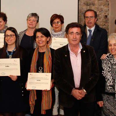 Villa y Tierra clausura el programa mixto de formación y empleo en asistencia geriátrica