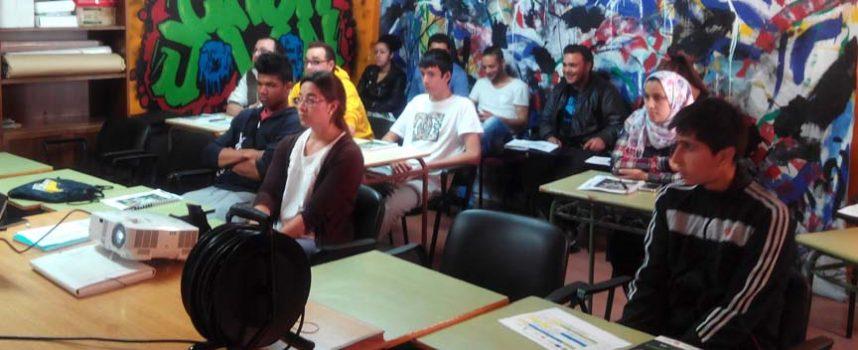 Comienza en Cuéllar el curso de logística organizado por la Diputación y la Escuela de Organización Empresarial