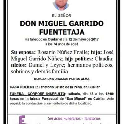 Miguel Garrido Fuentetaja