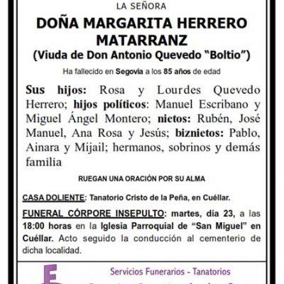 Margarita Herrero Matarranz