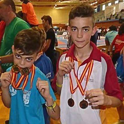 Alain y Hugo González suman nuevas medallas a su palmarés en el Campeonato de España