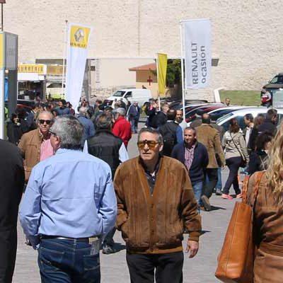 La Feria de Cuéllar abre sus puertas en una jornada en la que se espera gran afluencia de público