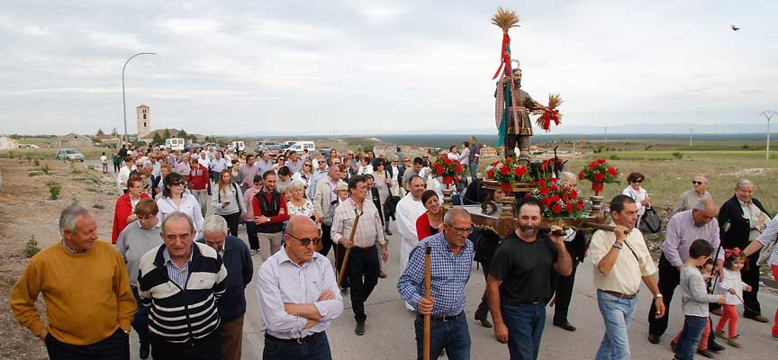 Escarabajosa y Fuentes de Cuéllar abren hoy los actos de celebración de San Isidro