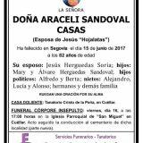 Araceli Sandoval Casas