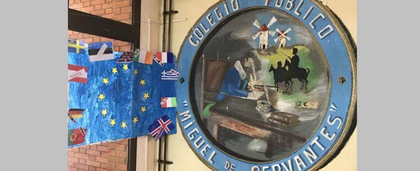 El Programa Erasmus Plus aterriza en la provincia en el CEIP Miguel de Cervantes de Navalmanzano
