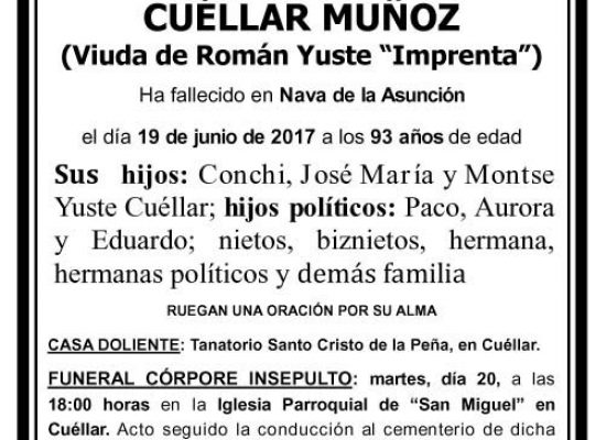 Felicisima Cuéllar Muñoz