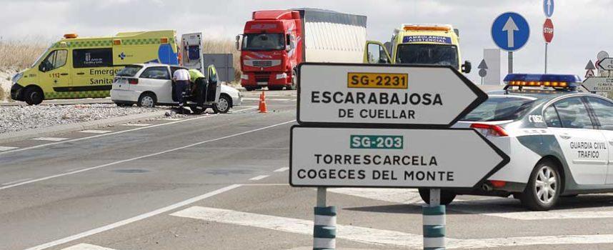 PP, PSOE e IU instan a la Junta a construir una infraestructura vial que elimine el peligro del cruce de la SG-223