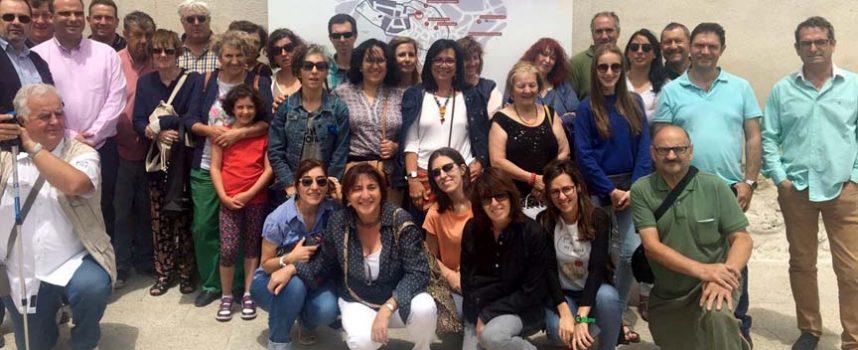 Empresarios de la provincia visitan `Reconciliare´ de la mano de la Diputación Provincial