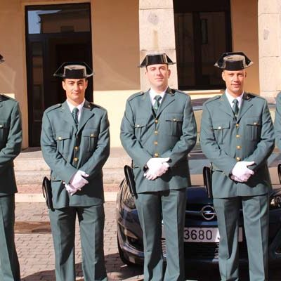 El acuartelamiento de Cuéllar incorpora nuevos Guardia Civiles alumnos