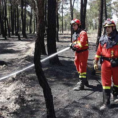 Fomento y Medio Ambiente declara mañana la alerta de incendios forestales por riesgo meteorológico