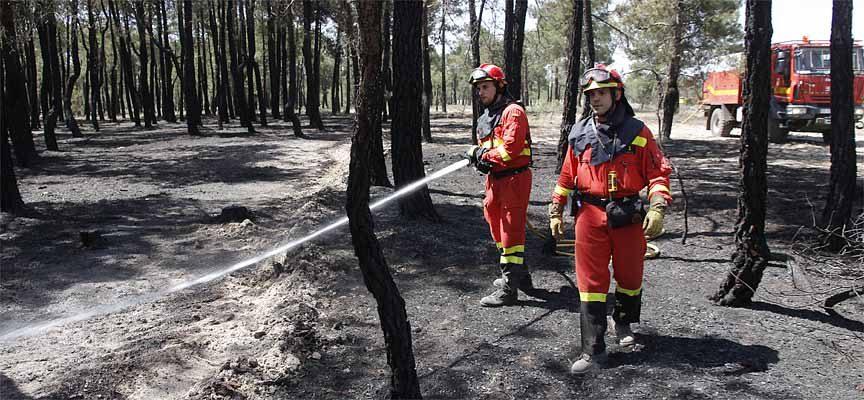 La Junta de Castilla y León declara época de peligro medio de incendios forestales hasta el 12 octubre
