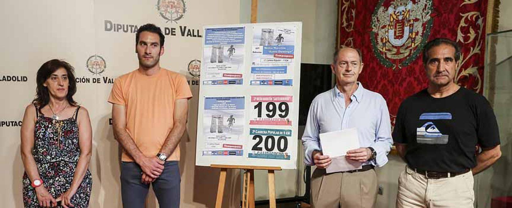 El domingo se celebra la 37ª Media Maratón de Campaspero y la segunda Carrera Popular