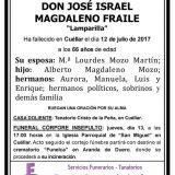 José Israel Magdaleno Fraile