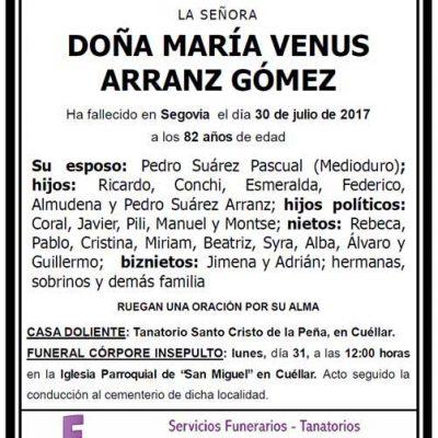 María Venus Arranz Gómez