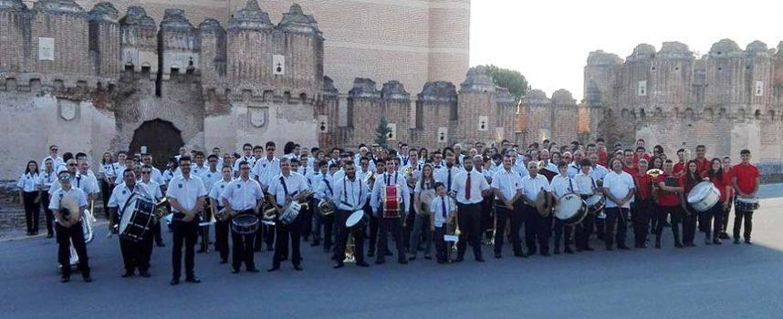 Las Bandas de Cuéllar, Cantalejo y Nava de la Asunción se sumaron al Festival de Bandas de Coca