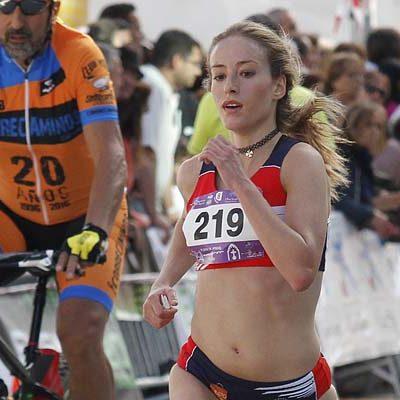 Diana del Ser se proclama subcampeona en 5.000 metros en el Campeonato de España promesa