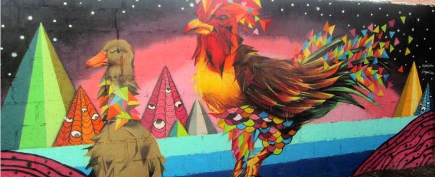 Miguel Bume y Pedro Maderuelo, ganadores del concurso de grafiti Ruralgraf