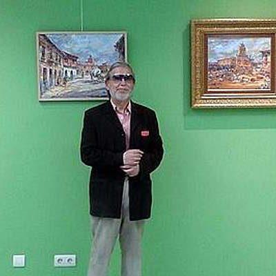Lope Tablada expone su obra en el centro cultural de Sanchonuño
