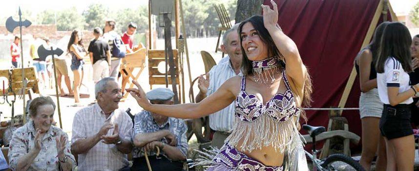 Sonidos, sabores y juegos medievales se dan cita en el Mercado Medieval de Sanchonuño