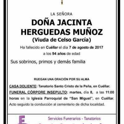 Jacinta Herguedas Muñoz