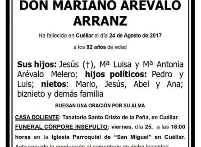 Mariano Arévalo Arranz
