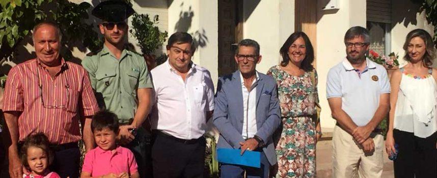 Sacramenia inauguró la recién rehabilitada calle Sepúlveda