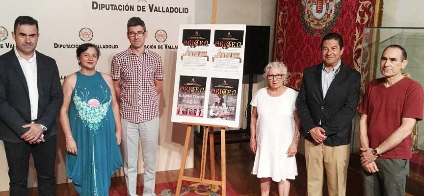 Presentación de la Recreación Histórica en la Diputación de Valladolid.